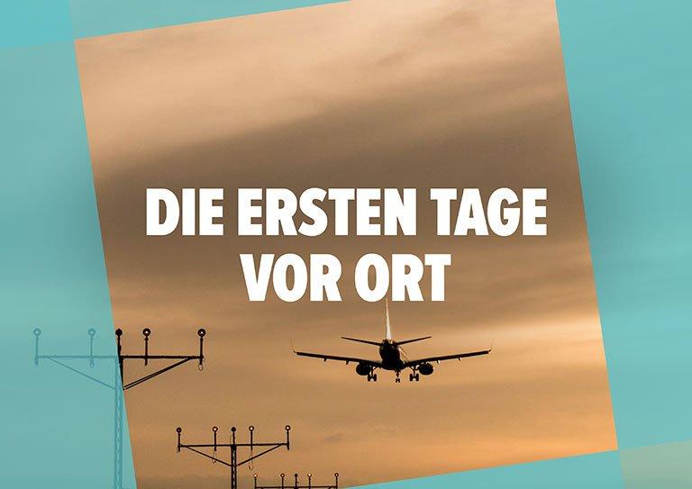 """Work & Travel Guide: Kapitel """"Die ersten Tage vor Ort"""""""